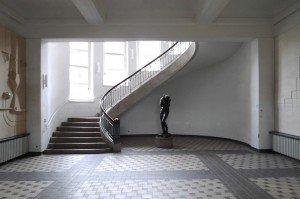 Le Bauhaus à Weimar, vue de l'intérieur.