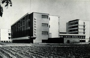 Bâtiment du Bauhaus à Weimar.