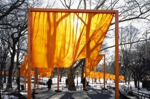 CLAUDE Christo and Jeanne, the gates, central park, New-York, 1979-2005