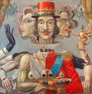 "ULAN Edward, ""Salvador Dali"", 1973"