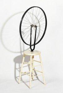"""DUCHAMP Marcel """"Roue de bicyclette"""", 1913"""